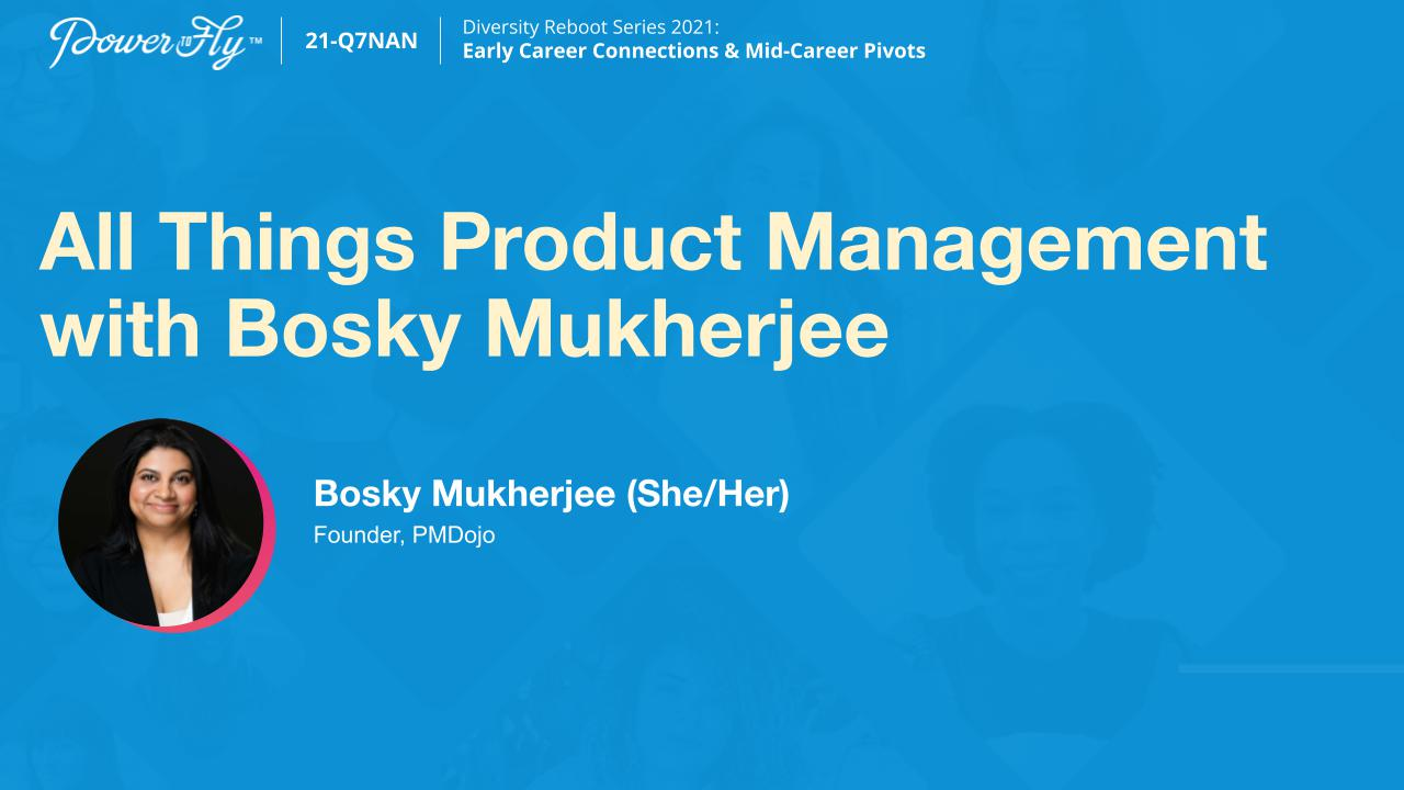 All Things Product Management with Bosky Mukherjee