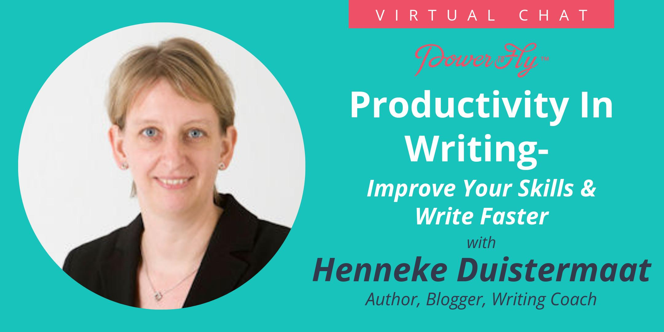 Productivity In Writing- Improve Your Skills And Write Faster