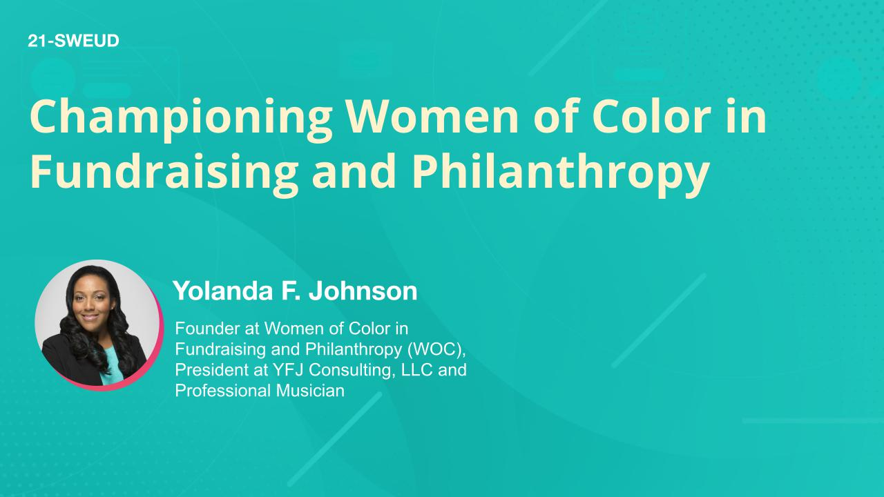 Championing Women of Color in Fundraising and Philanthropy