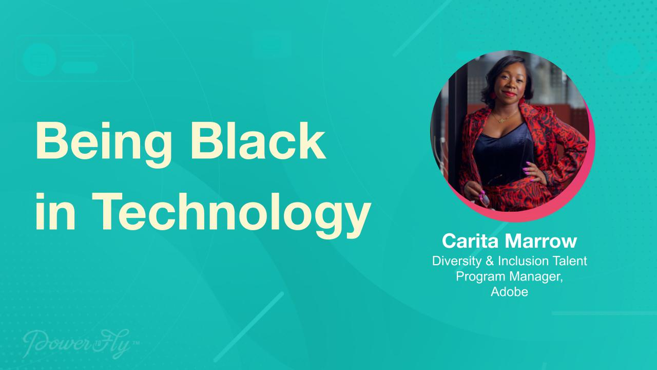 Being Black in Technology