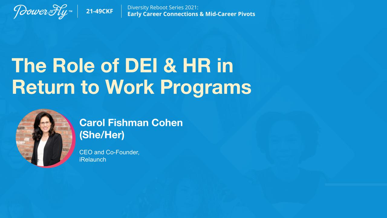 The Role of DEI & HR in Return to Work Programs