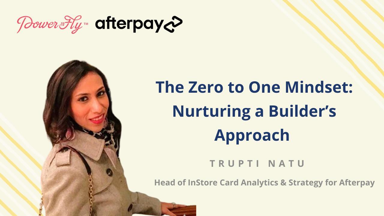 The Zero to One Mindset: Nurturing a Builder's Approach