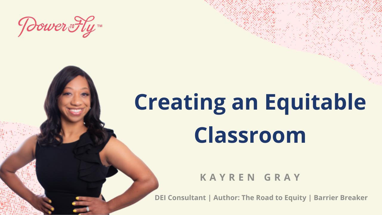 Creating an Equitable Classroom