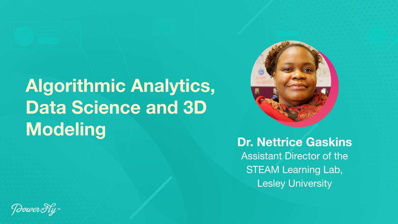 Algorithmic Analytics, Data Science and 3D Modeling