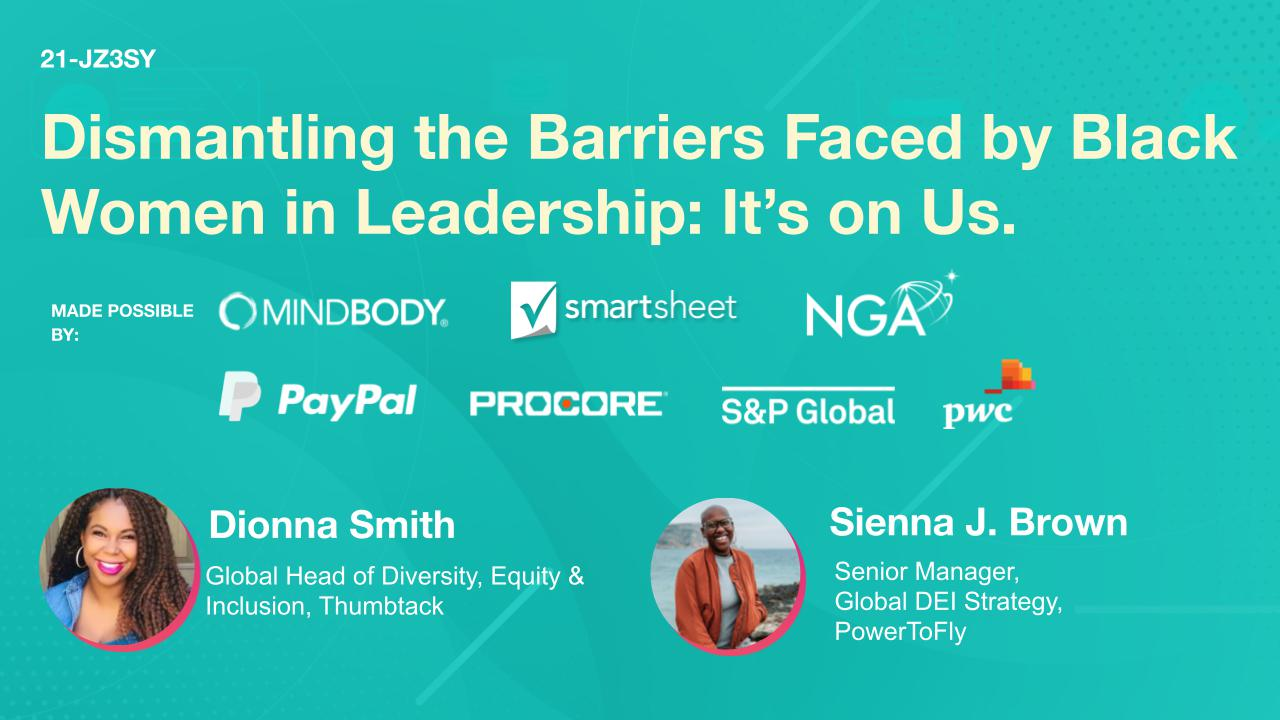 Dismantling the Barriers Faced by Black Women in Leadership: It's on Us.
