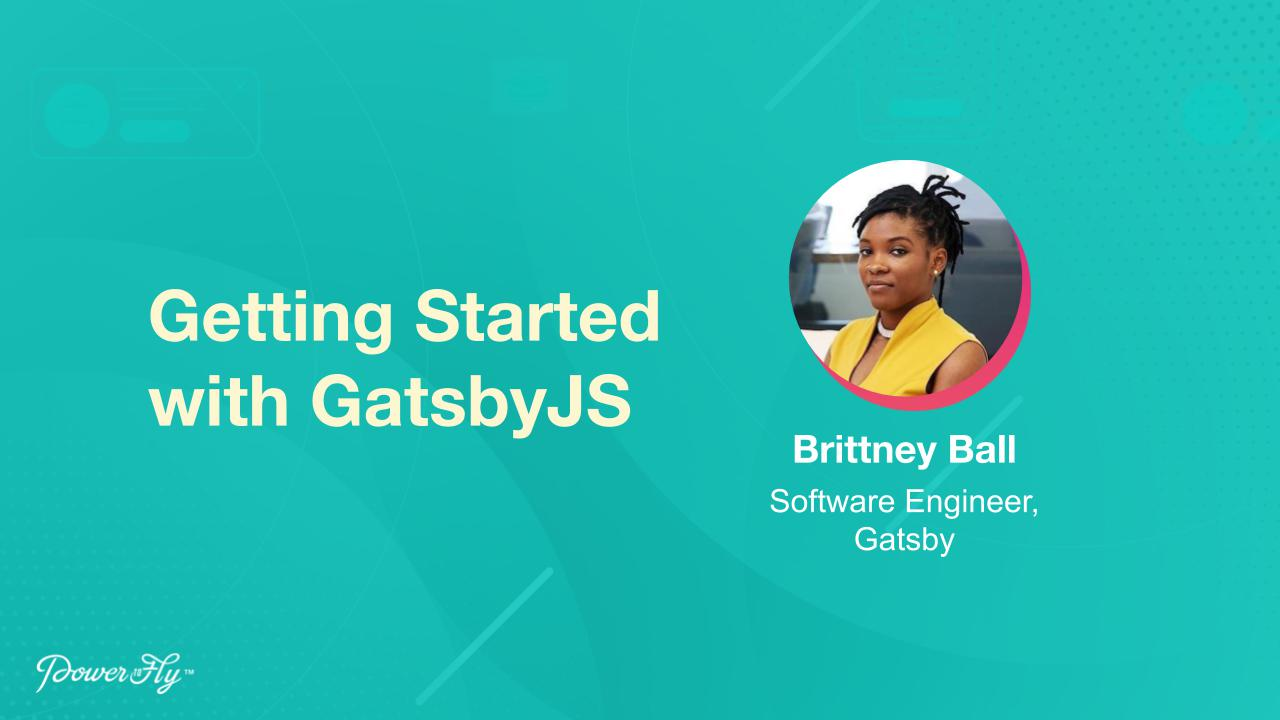Getting Started with GatsbyJS