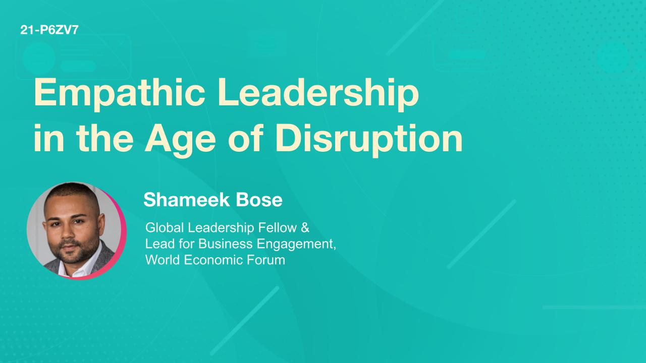 Empathic Leadership in the Age of Disruption