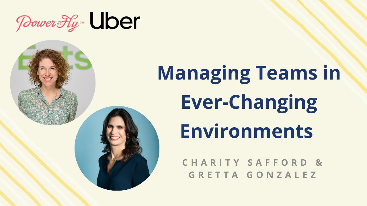 Managing Teams in Ever-Changing Environments