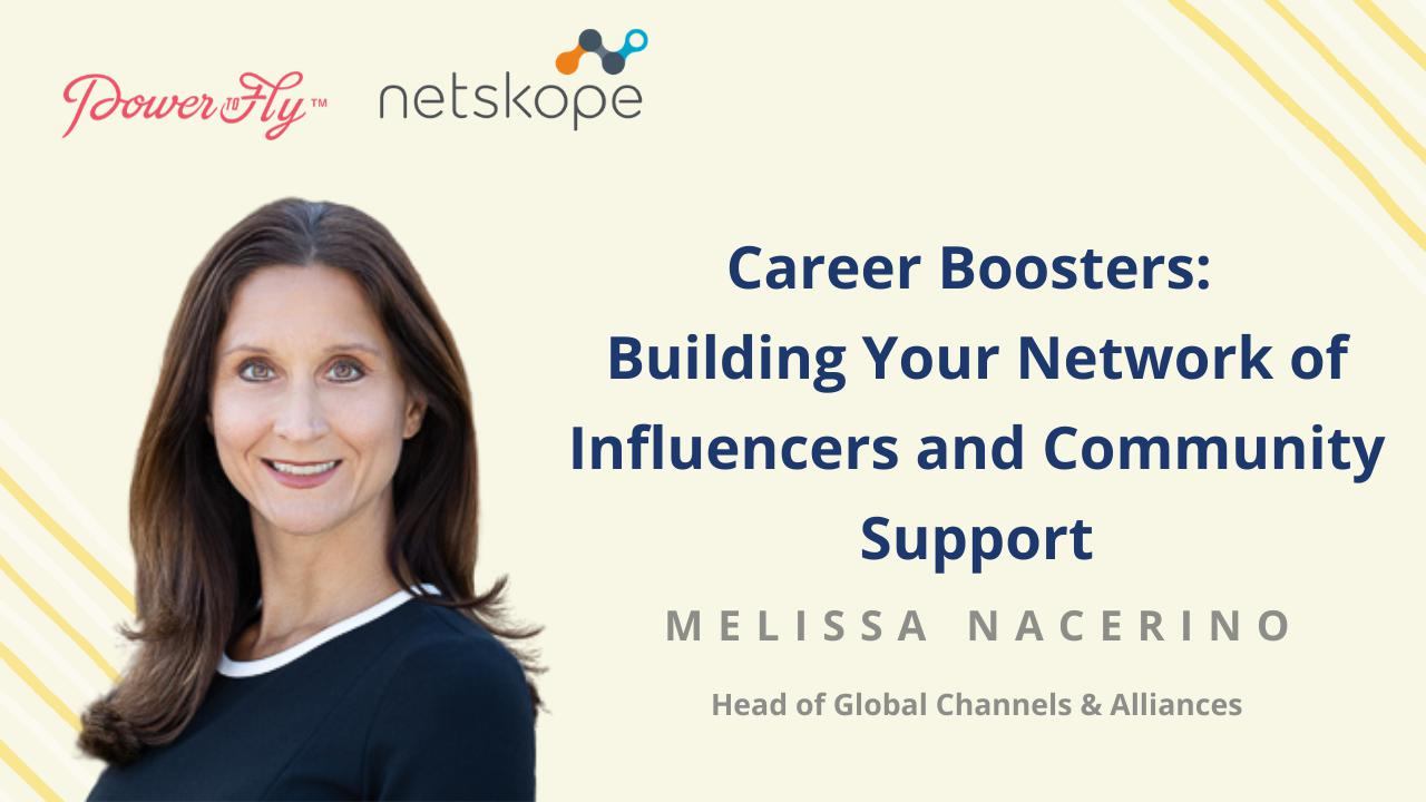 Career Boosters: Building Your Network of Influencers and Community Support