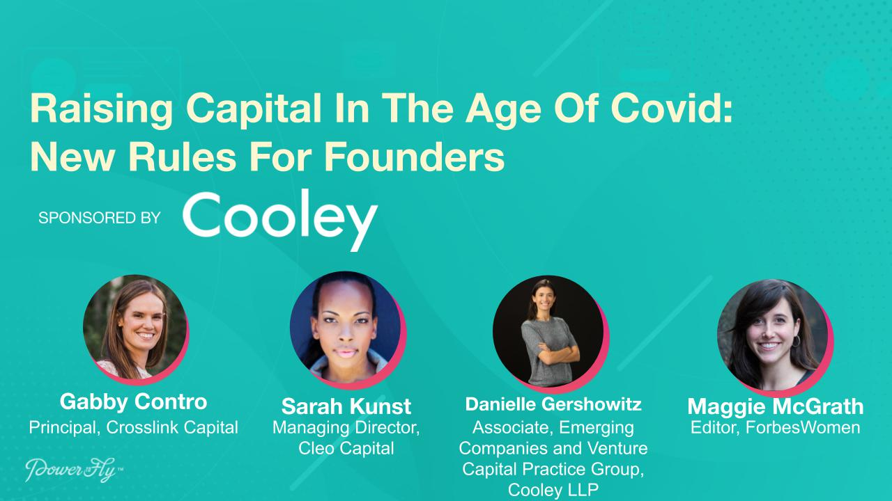 Raising Capital In The Age Of Covid: New Rules For Founders