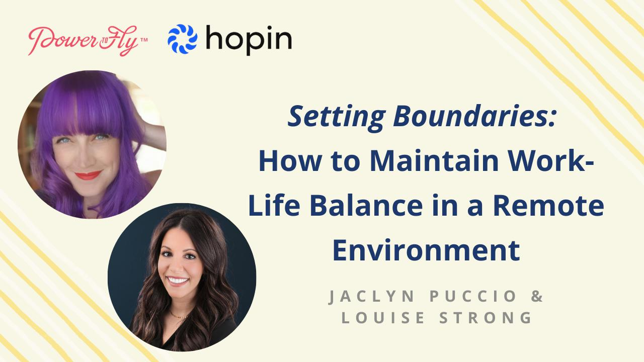 Setting Boundaries: How to Maintain Work-Life Balance in a Remote Environment