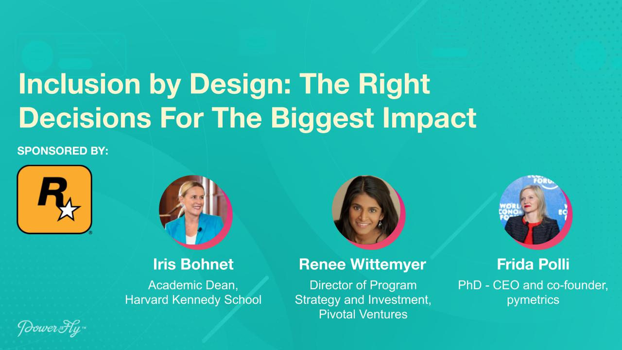 Inclusion by Design: The Right Decisions For The Biggest Impact