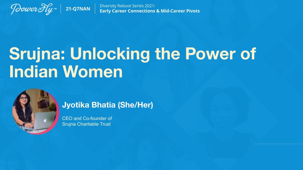 Srujna: Unlocking the Power of Indian Women