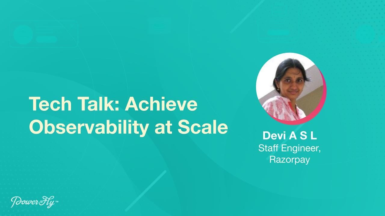 Tech Talk: Achieve Observability at Scale
