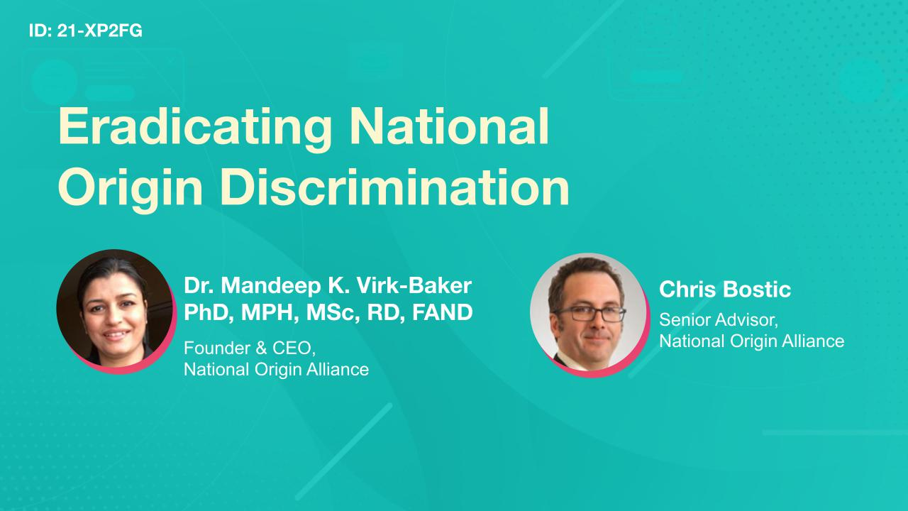 Eradicating National Origin Discrimination