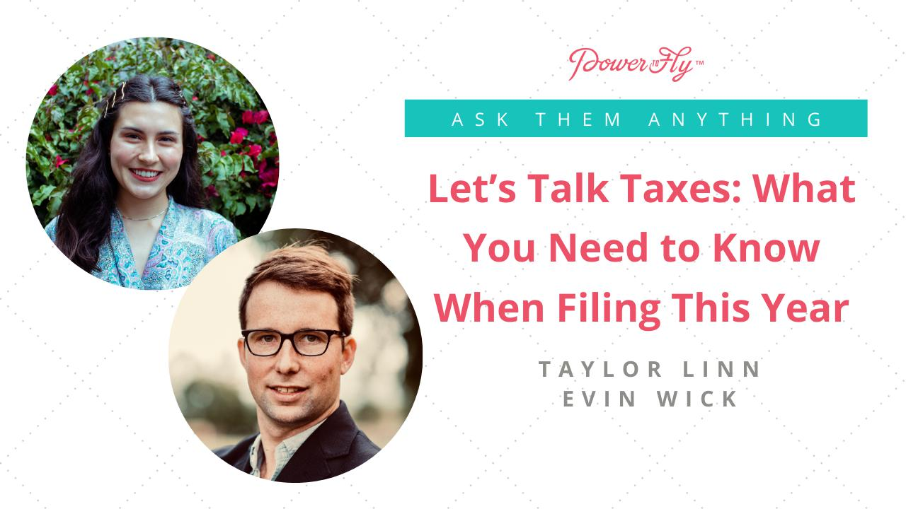 Let's Talk Taxes: What You Need to Know When Filing This Year