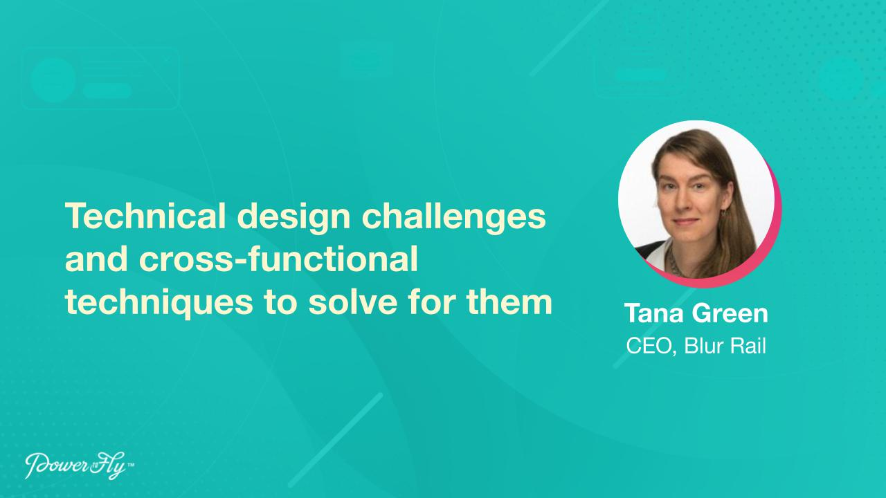 Technical design challenges and cross-functional techniques to solve for them