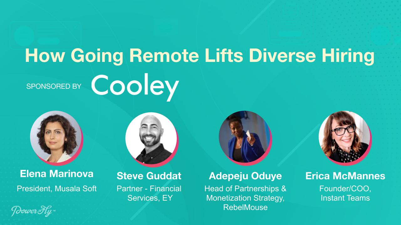 How Going Remote Lifts Diverse Hiring