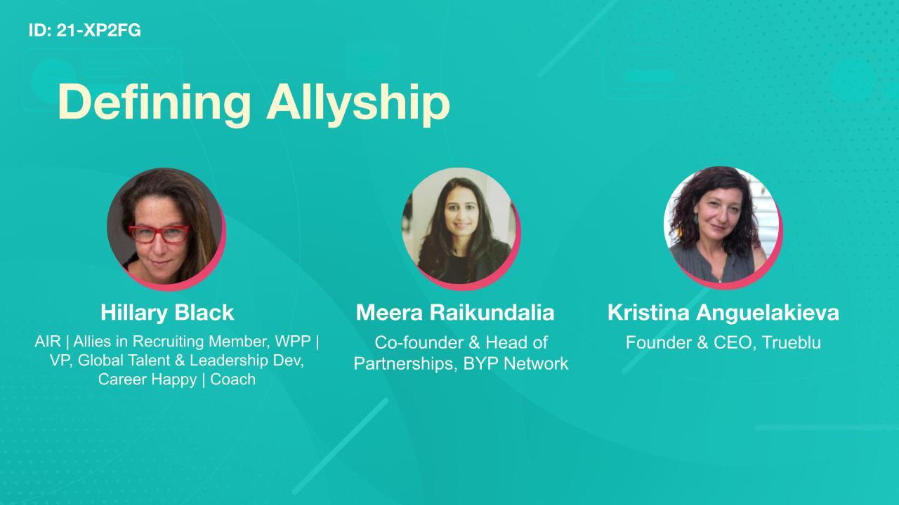 Defining Allyship