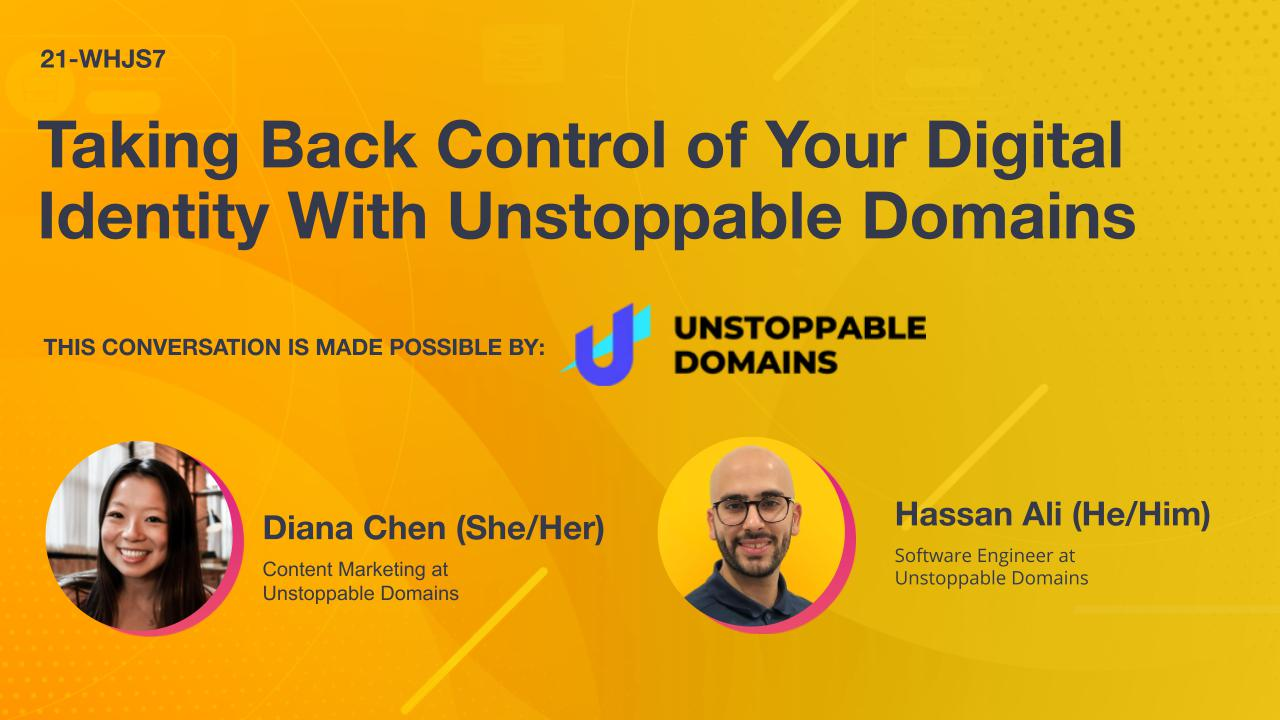 Taking Back Control of Your Digital Identity With Unstoppable Domains