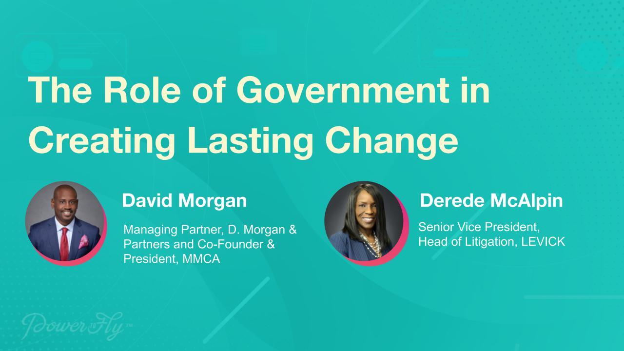 The Role of Government in Creating Lasting Change
