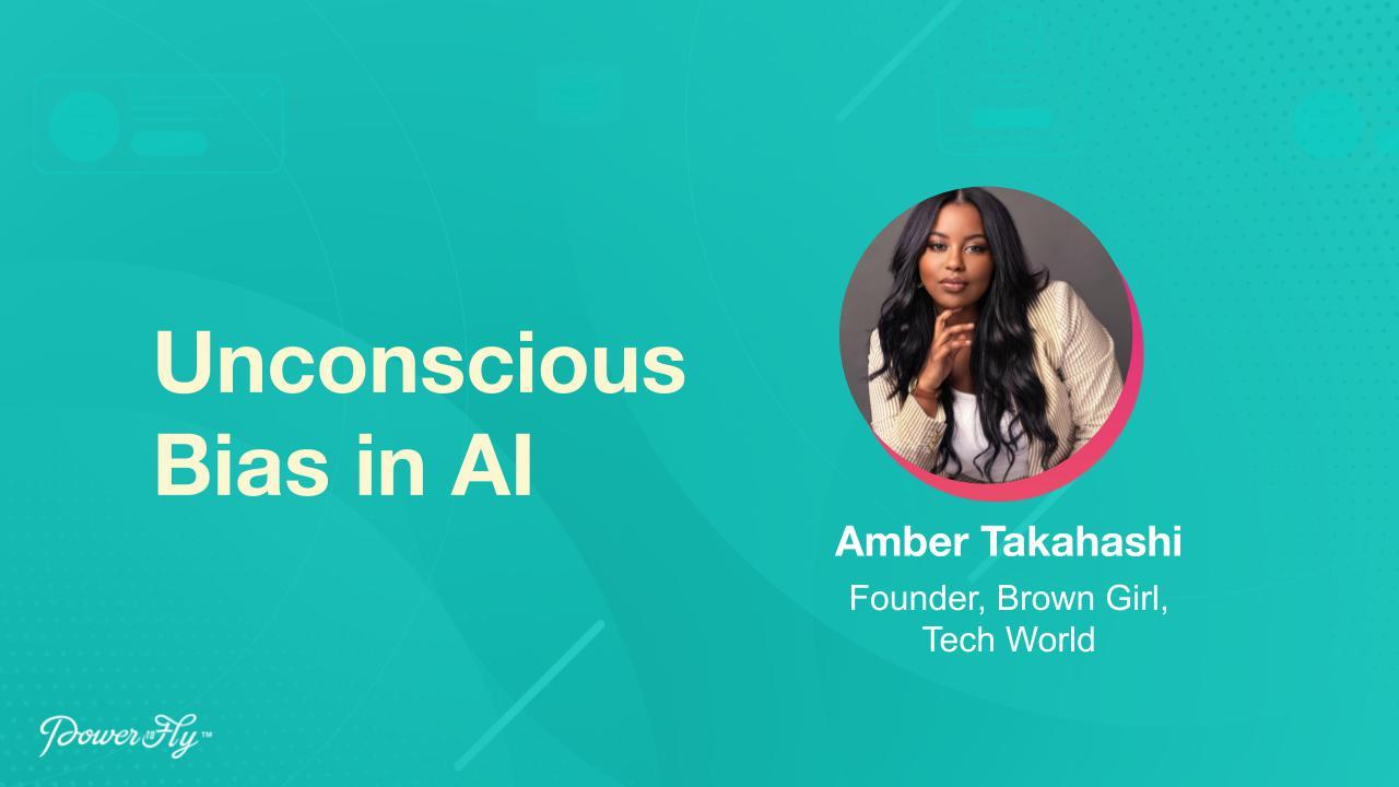 Unconscious Bias in AI