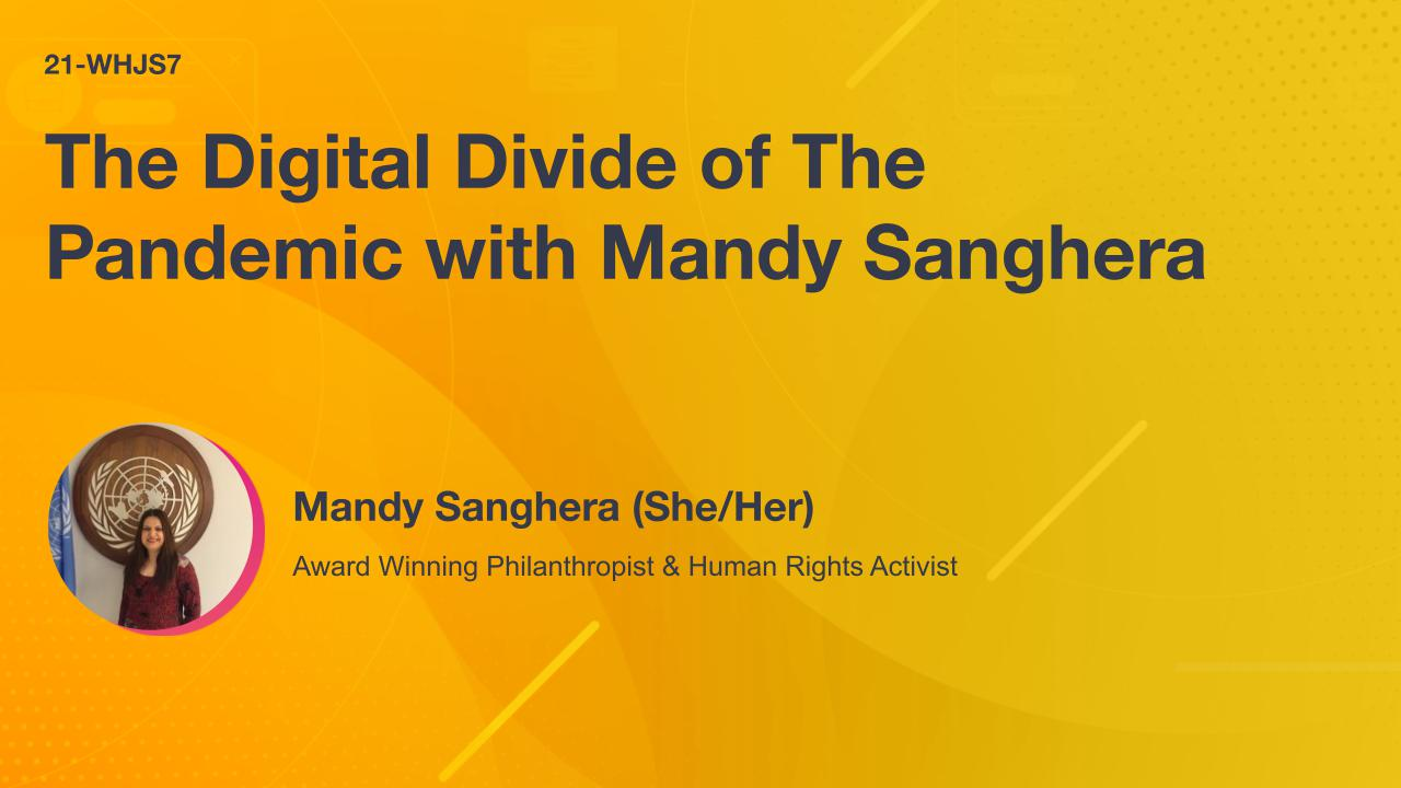 The Digital Divide of The Pandemic with Mandy Sanghera