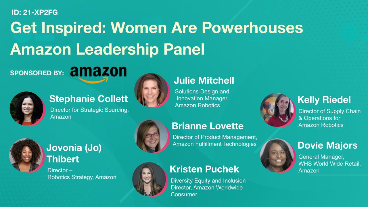 Get Inspired: Women Are Powerhouses Amazon Leadership Panel