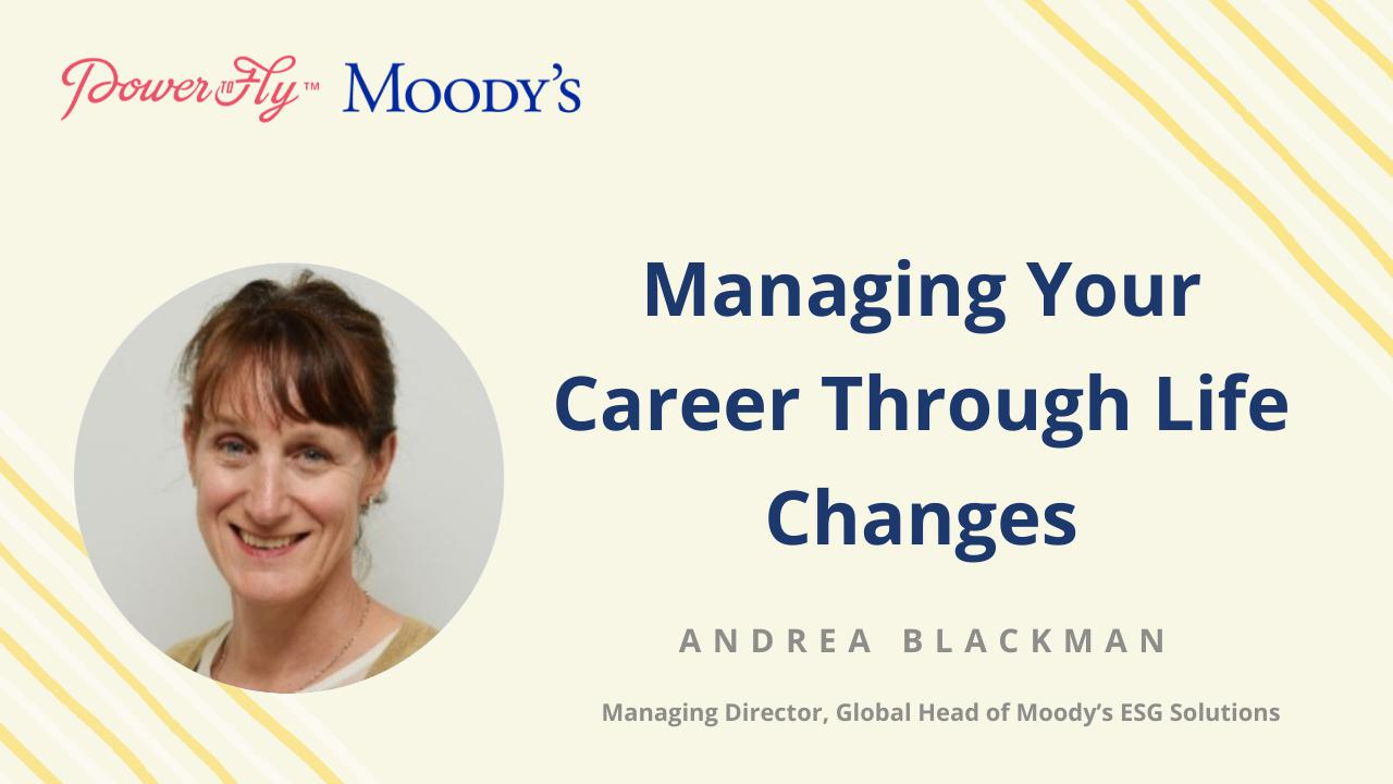 Managing Your Career Through Life Changes