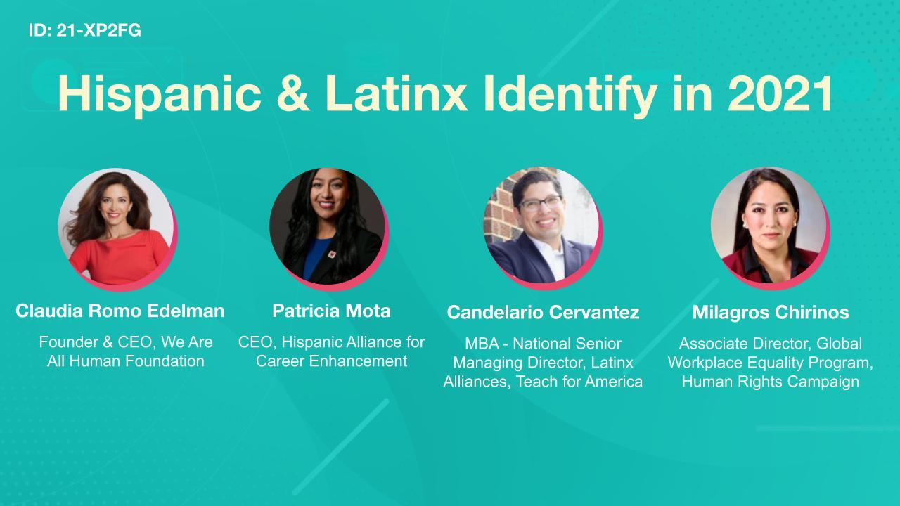 Hispanic & Latinx Identity in 2021