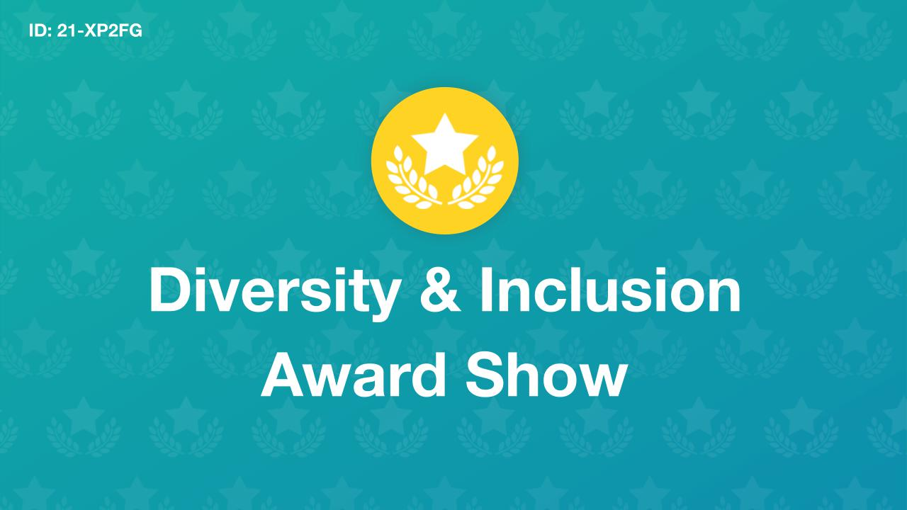 Diversity & Inclusion Award Show