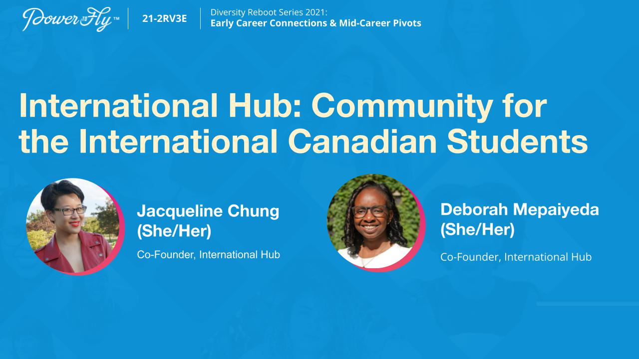 International Hub: Community for the International Canadian Students
