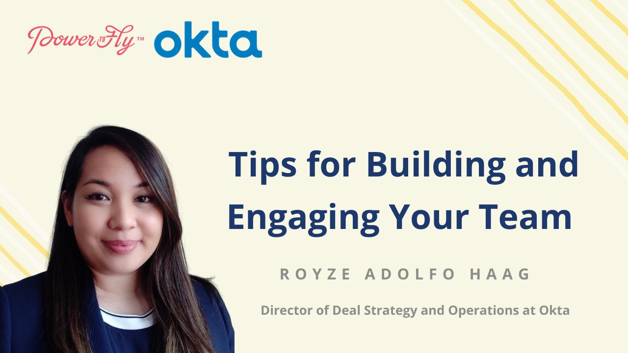 Tips for Building and Engaging Your Team