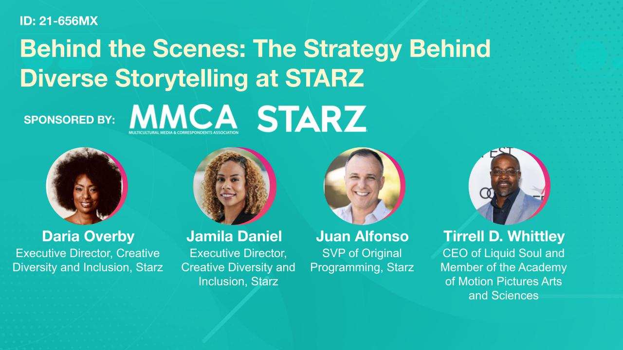 Behind the Scenes: The Strategy Behind Diverse Storytelling at STARZ