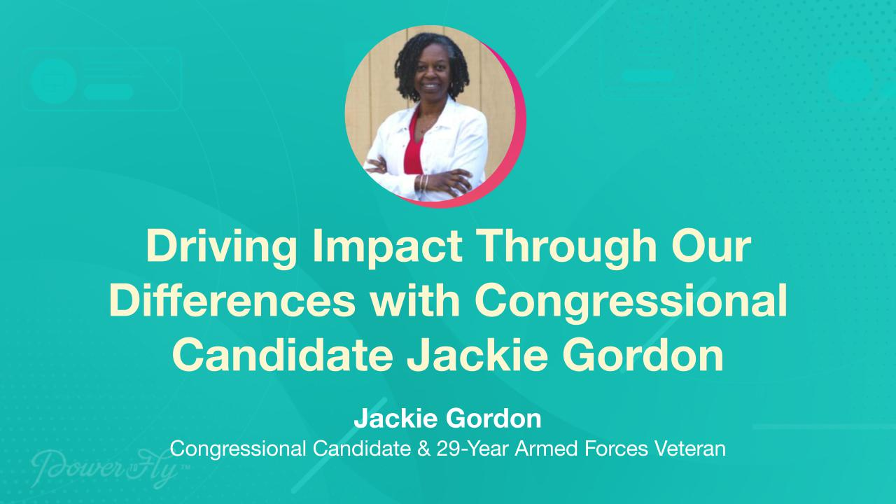 Driving Impact Through Our Differences with Congressional Candidate Jackie Gordon