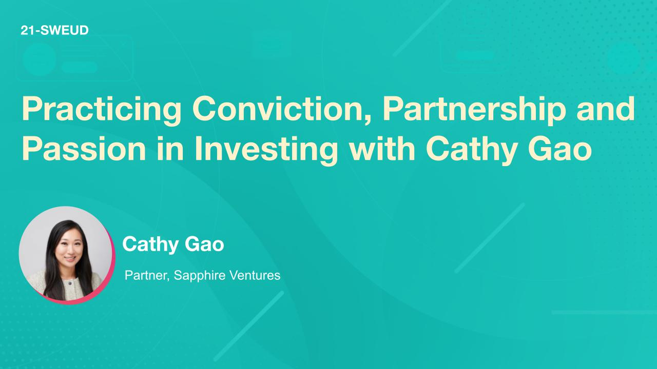 Practicing Conviction, Partnership and Passion in Investing with Cathy Gao